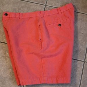Brooks Brothere 346 Men's Linen Blend Shorts 36/38
